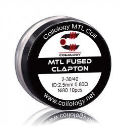 MTL Fused Clapton ni80 0.80ohm