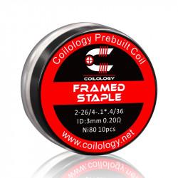Framed Staple ni80 0.30ohm