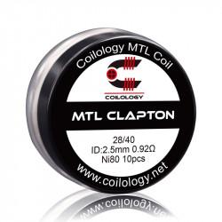 Mtl clapton ni80 0.92ohm