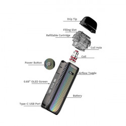 Kit Pod Luxe PM40 1800mAh...