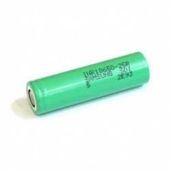 Accu Samsung INR 18650 - 25R - 2500 mAh