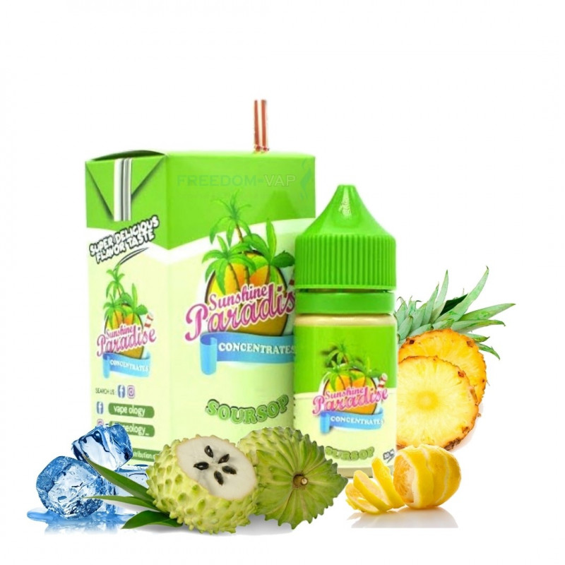 Concentré Soursop 30ml Sunshine Paradise