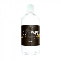 Base 50/50 0mg 1L GOLD VAPE