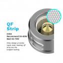 Résistances QF Strip (0.15 ohm) Vaporesso