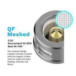 Résistance QF Meshed (0.2 ohm) Vaporesso